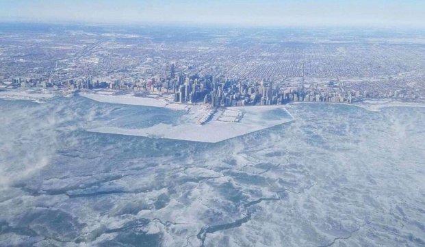 Chicago se ha congelado