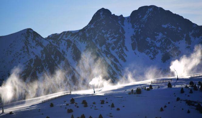 La estación y los esquiadores han cumplido su cometido