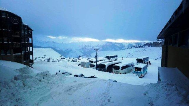 Las pistas francesas de Peyragudes han recibido 1,10 cm de nieve