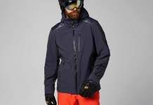 La Slingshot de Helly Hansen recuerda a la clásica chaqueta de cuero para moto.