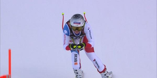 Suter ha exhibido su gran momento de forma para colgarse la plata después del bronce en el super G.