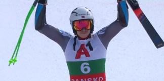 Henrik Kristoffersen ha estrenado su palmarés esta temporada en la Copa del Mundo ganando el gigante de Bansko.