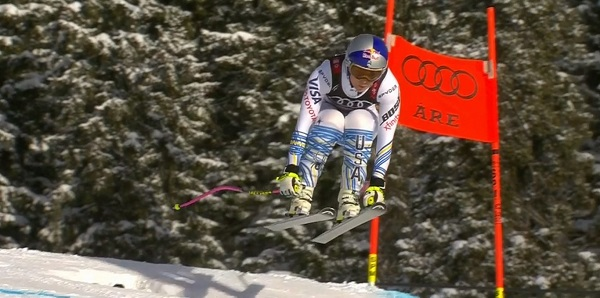 Lindsey Vonn lo ha dado todo en su última carrera y se despide con un bronce.