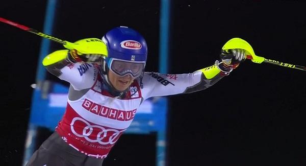 Shiffrin ha logrado una trabajada victoria hoy en Estocolmo.