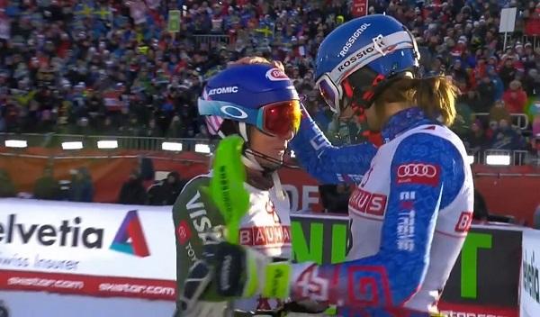 Shiffrin y Vlhova, una sana rivalidad que no ha hecho más que empezar.