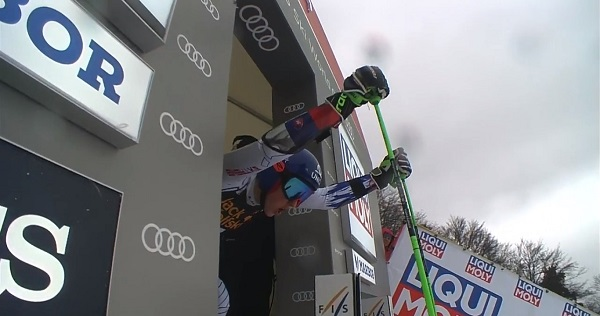 Cuarta victoria de la temporada para Petra Vlhova.