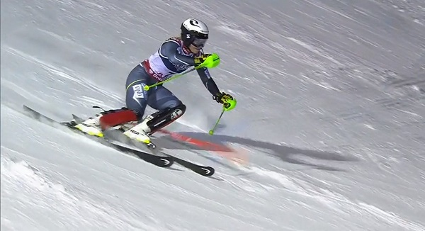 Mowinckel, la mejor velocista en el slalom, se ha llevado el bronce.
