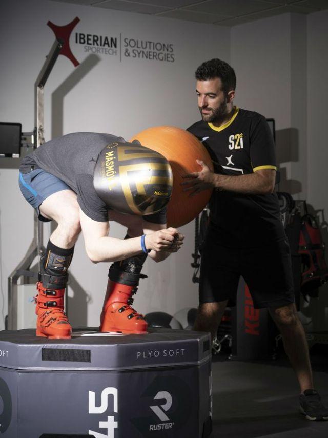 El madrileño se ha puesto en manos de su entrenador Alejandro Muñoz