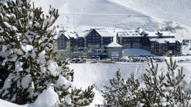 Un cuidado centro invernal