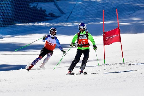 El eslovaco Marek Kubacka ha sido el ganador en GS Discapacitado Visual. FOTO: @Luc-Percival