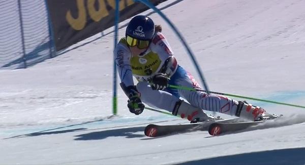 Petra Vlhova ha completado el podio.