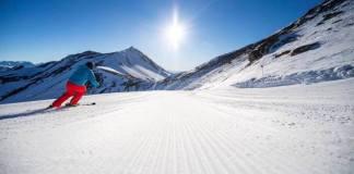La estación de Cerler propone otro fin de semana la actividad 'Abrir huella'