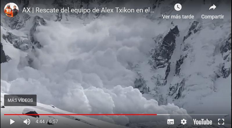 """""""Campo I arrasado Felix!"""" gritó Txikon"""