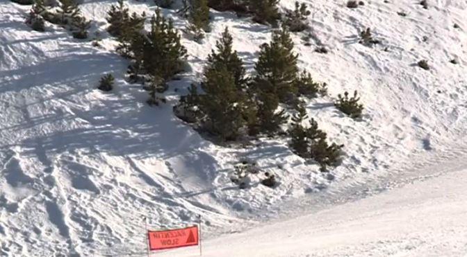 El aficionado ha perdido el control en el muro final de la pista Avet (Grandvalira)
