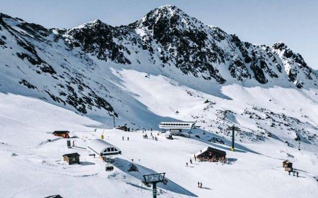 Vista de la estación andorrana