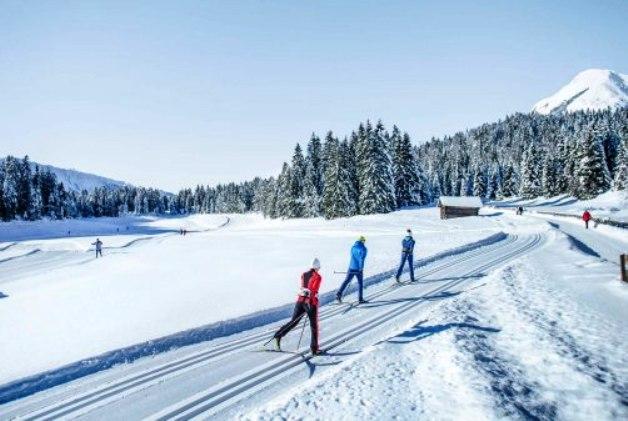 Una imagen de Seefeld donde se celebra el Mundial de esquí nórdico