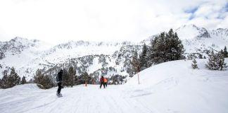 La estación ha recibido más de medio metro de nieve los últimos días