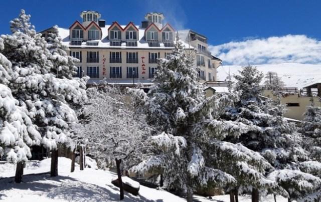Otra estampa nevada de Sierra Nevada