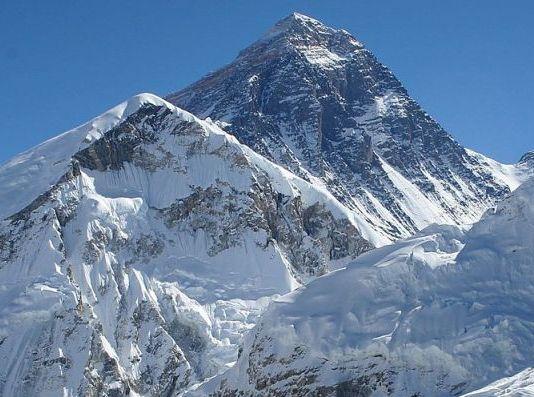 Una imagen del Everest