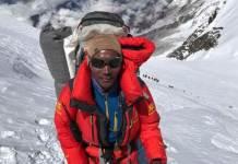 Rita durante su 23 subida al Everest