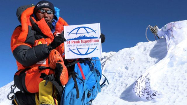 Kami Rita, en el Everest AFP