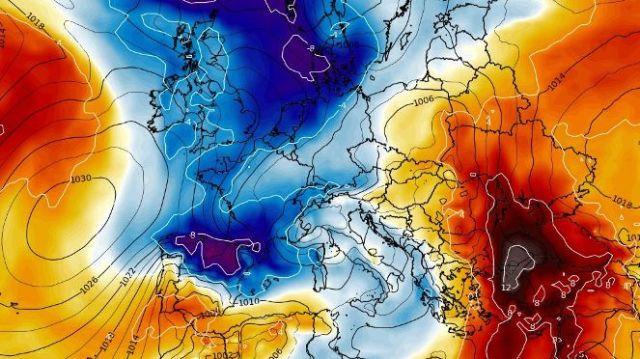 Situación meteorológica, que podría traer más nieve la semana próxima