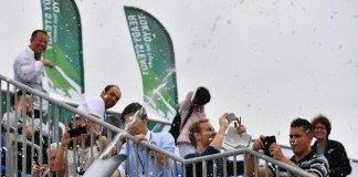Los organizadores de Tokio 2020 muestran a los medios las máquinas de nieve