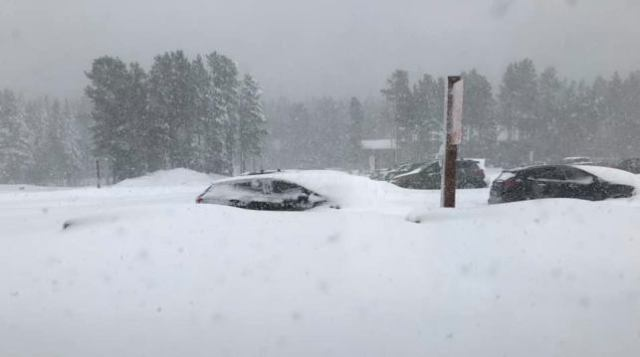 Parking de Kastle Mountain