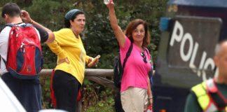 Dolores Fernández Ochoa hoy en Las Dehesas de Cercedilla