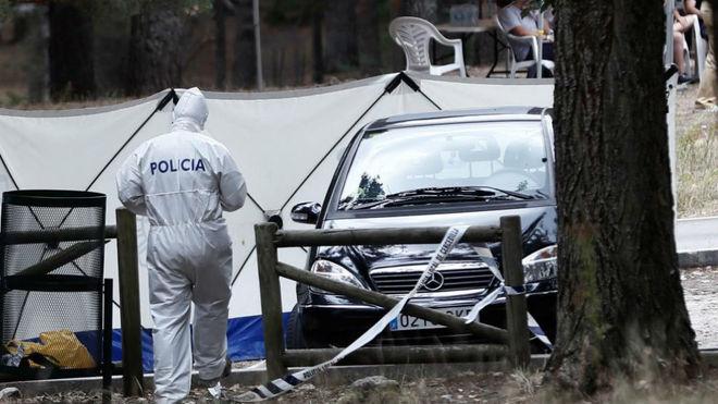 La Policía analiza el coche de la exesquiadora Fernández-Ochoa EFE
