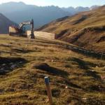 Las máquinas han comenzado a trabajr en Cerler