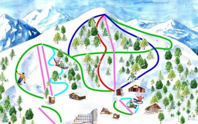 Nuevo mapa de pistas