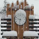 Así nevaba en Aspen