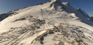 Aspecto actual del Glaciar de la Grande Motte