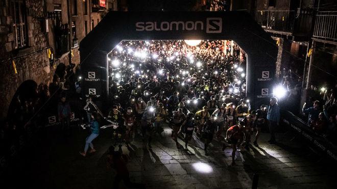 La salida de Ultra Pirineu de 2018. Oriol BatistaSalomon Ultra Pirineu