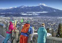 Nordkette es la más cercana y ofrece unas vistas espectaculares sobre la ciudad. FOTO: Innsbruck.info