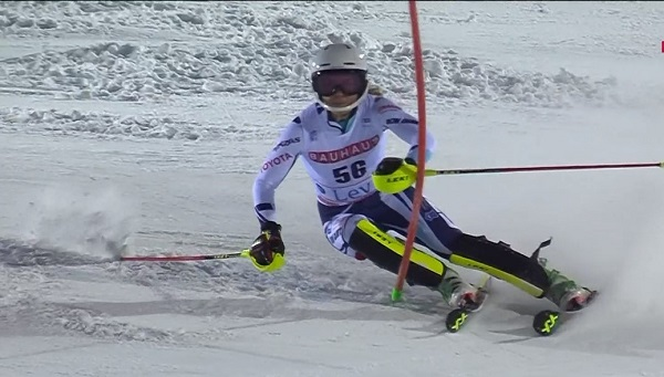 Martina Dubovska ha firmado el slalom de su vida.