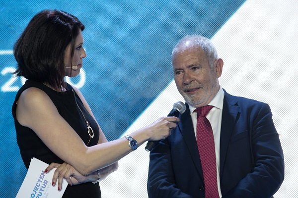 Óscar Cruz, presidente de la FCEH. FOTO: @photoset.es/Toni Grases
