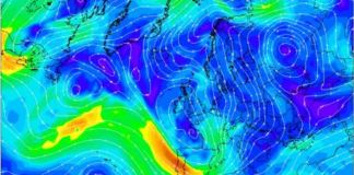 Los vientos giran a NW de cara al sábado y por tanto harán bajar la cota de nieve