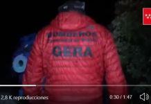 Efectivos del GERA se desplazaron hasta La Pedriza