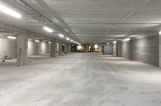 Imagen del nuevo parking