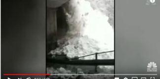 Impactantes imágenes de la avalancha