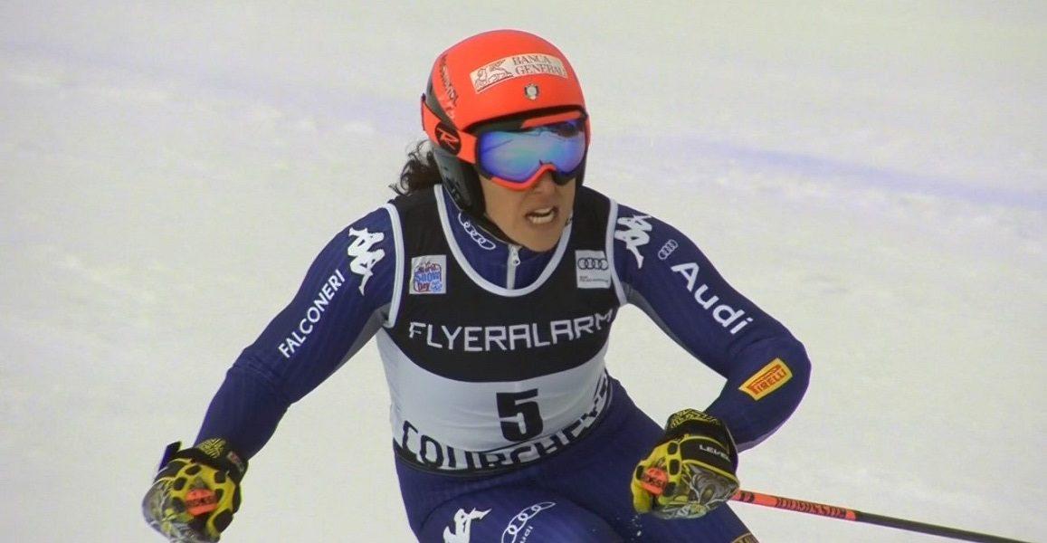 Federica Brignone ha ganado el gigante de Courchevel en un ajustado duelo con la noruega Mina Fuerst Holtmann.