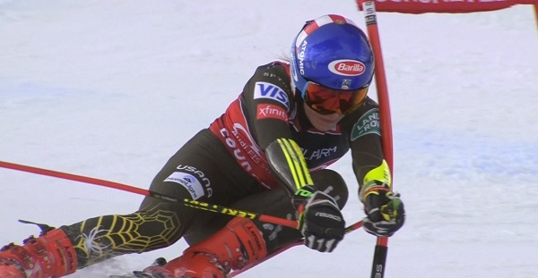 Mikaela Shiffrin ha obtenido en Courchevel uno de sus peores resultados en gigante.