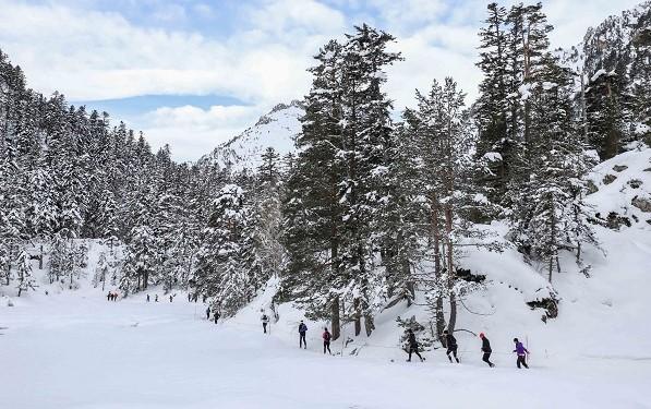 La octava edición de la Trail Blanc du Pont d'Espagne, en Cauterets el 12 de enero.