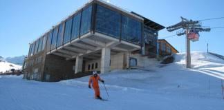 Los aficionados tienen abierto todo el desnivel esquiable