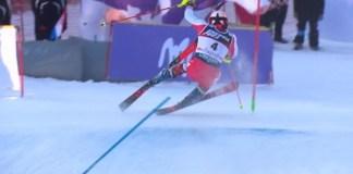 Michael Matt tenía en la mano el slalom de Zagreb pero lo tiró por la borda nada más empezar la segunda manga.