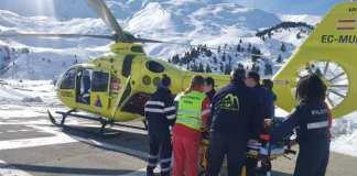 El aficionado fue trasladado al hospital de Zaragoza