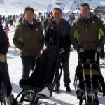 Un grupo de discapacitados en Sierra Nevada