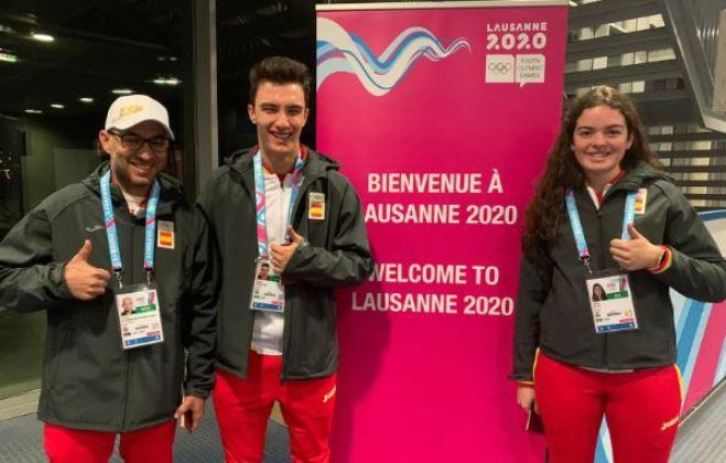 los deportistas de esquí alpino que representarán a España en los YOG de Lausana 2020